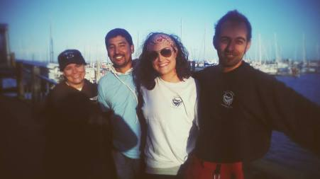 From left to right: Manue Martinez, Tizoc Garcia, Dani Barbknecht, and Lorenzo Fiori.