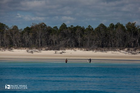 Fishermen on Fraser Coast