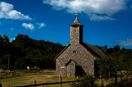 The Churches of Chiloé are known for their architectural wonder because they are made entirely of native timber, including hinges and an extensive use of wood shingles.