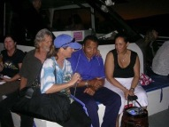 Muhammad Ali onboard Ocean Voyager