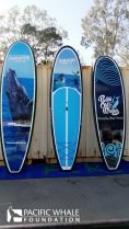A set of SUP boards to help get people into to Paddle Out spirit!