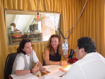 Carol and Elsa Cabrera worked closely on blue whale research with Centro de Conservación Cetacea.