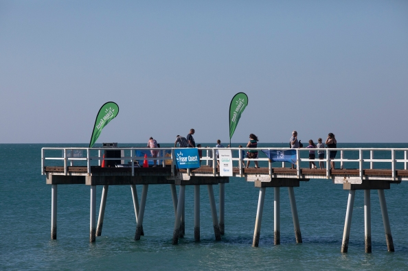 One of three major piers in Hervey Bay