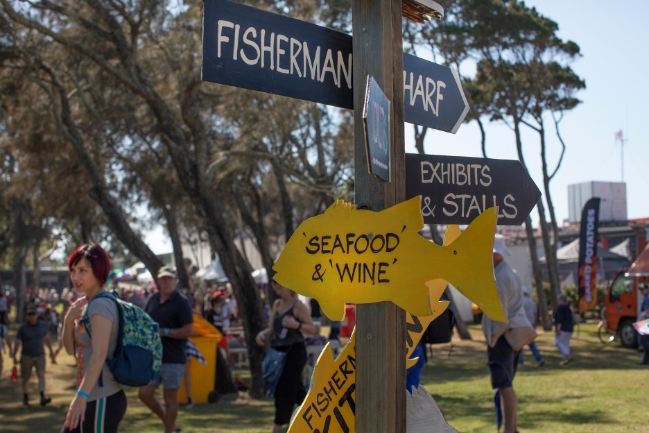Seafood Festival entrance
