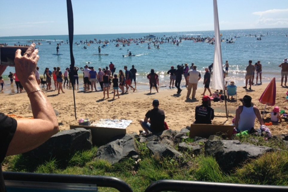 Paddle out for the whales competition